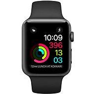 Apple Watch Series 1 42 mm Aluminiumgehäuse Space grau mit Sportarmband Space schwarz - Smartwatch