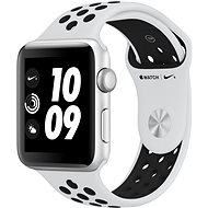 Apple Watch Series 3 Nike+ 42mm GPS Silber Aluminium mit Sportarmband Platinum/grau - Smartwatch