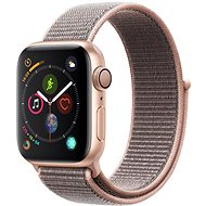Apple Watch Series 4 40mm Gold Aluminium Sport-Loop, Sandrosa - Smartwatch