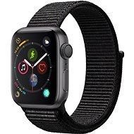 Apple Watch Series 4 40mm Space Black schwarz Aluminium mit schwarzem Sportarmband - Smartwatch