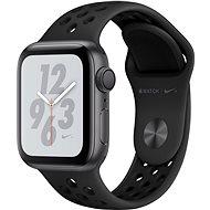Apple Watch Series 4 Nike+ 40mm Space Black Aluminium Nike Sportarmband Anthrazit/Schwarz - Smartwatch