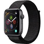 Apple Watch Series 4 44mm Aluminiumgehäuse, Space Schwarz, mit Sport Loop, Schwarz - Smartwatch