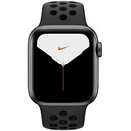 Apple Watch Series 5 Nike + 40 mm Space Grey Aluminium mit Nike Sportarmband in Anthrazit / Schwarz - Smartwatch