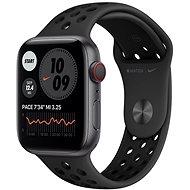 Apple Watch Nike Series 6 - 40 mm Cellular Space Grey Aluminium mit Sportarmband in Anthrazit/Schwarz - Smartwatch
