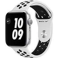 Apple Watch Nike Series 6 - 44 mm - Aluminium in Silber mit platin/schwarzem Nike Sportarmband - Smartwatch