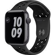 Apple Watch Nike Series 6 - 44 mm - Aluminium in  Space Grey mit anthrazit/schwarzem Nike Sportarmband - Smartwatch