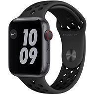Apple Watch Nike Series 6 - 44 mm Cellular Space Grey Aluminium mit Sportarmband in Anthrazit/Schwarz - Smartwatch
