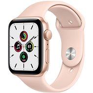 Apple Watch SE 40mm Aluminiumgehäuse Gold mit Sportarmband Sandrosa - Smartwatch