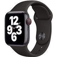 Apple Watch SE 40mm Cellular Space Black Aluminium mit schwarzem Sportarmband - Smartwatch