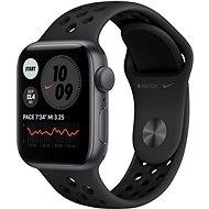 Apple Watch Nike SE 40mm Aluminiumgehäuse Space Gray mit Nike Sportarmband Anthrazit/Schwarz - Smartwatch