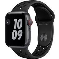 Apple Watch Nike SE - 40 mm Cellular Space Grey Aluminium mit Nike Sportarmband in Anthrazit/Schwarz - Smartwatch