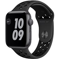 Apple Watch Nike SE 44 mm Space Grey Aluminium mit Nike Anthrazit / Schwarz Sportarmband - Smartwatch