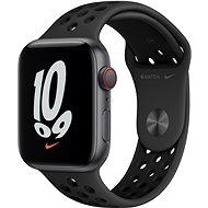 Apple Watch Nike SE Cellular 44mm Aluminiumgehäuse Space Grey mit Nike Sportarmband Anthrazit/Schwarz - Smartwatch
