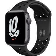 Apple Watch Nike SE 44 mm Space Gray Aluminium mit Anthrazit/Schwarzem Nike Sportarmband - Smartwatch
