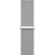 Apple 38mm Sport Schleife Muscheln weiß - Armband
