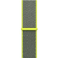Apple 38mm Sport Schleife Hellgelb - Armband
