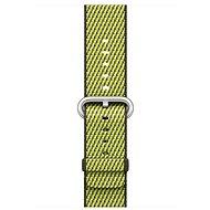 Apple 42 mm Armband aus gewebtem Nylon - Dunkeloliv kariert - Armband