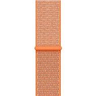Sportarmband für Apple Watch 42 mm Pfeffer Orange - Armband