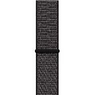 Apple Watch 44mm Schwarzes Nike Sportarmband - Armband