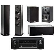 DENON AVR-X540BT + reprosoustava Polk Audio T50 + T30 + T15 - AV receiver
