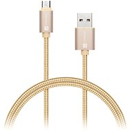 Datenkabel CONNECT IT Wirez Premium Micro-USB Metallic Gold 1m - Datenkabel