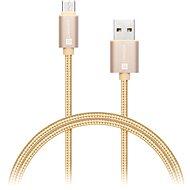 Datenkabel CONNECT IT Wirez Premium Metallic USB-C 1m Gold - Datenkabel