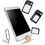 CONNECT IT Nano und Micro SIM Adapter Schwarz