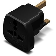 CONNECT IT UK Power Adapter Schwarz - Reiseadapter