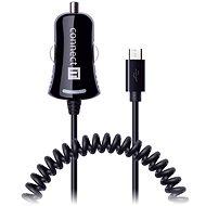 Autoladegerät CONNECT IT CI-436 Auto-Ladegerät Micro USB Twist schwarz