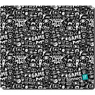 """CONNECT IT CMP-1125-MD """"DOODLE"""" Gaming Series Middle - Mousepad"""