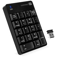 CONNECT IT NumCALC CKB-0061-BK, schwarz - Numerische Tastatur