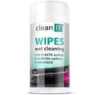 CLEAN IT feuchte Reinigungstücher für Kunststoffe 100 Stück - Reinigungsmittel