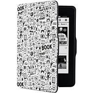 CONNECT IT CEB-1031-WH für Amazon Kindle Paperwhite 1/2/3, Doodle White - eBook-Reader Hülle