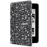 CONNECT IT CEB-1043-BK für Amazon NEW Kindle Paperwhite 2018, Doodle black