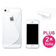 CONNECT IT S-Cover iPhone SE/5/5s transparent - Schutzhülle