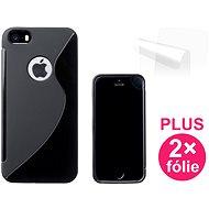 CONNECT IT S-Cover iPhone SE/5/5s schwarz - Schutzhülle