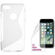 CONNECT IT S-Cover iPhone 7 Transparent - Schutzhülle