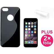 CONNECT IT S-Cover iPhone 6/6s schwarz - Schutzhülle