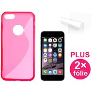 CONNECT IT S-Cover iPhone 6/6s rot - Schutzhülle