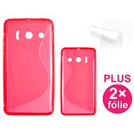 CONNECT IT S-Cover HUAWEI Ascend Y300 rot - Schutzhülle