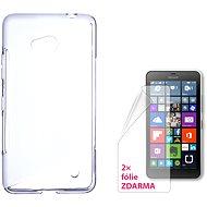 CONNECT IT S-Cover Microsoft Lumia 640 LTE / 640 Dual SIM Transparent - Schutzhülle
