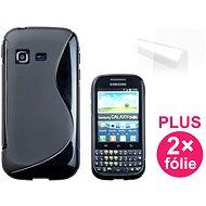CONNECT IT S-Cover Samsung Galaxy Chat (B5330) černé - Schutzhülle