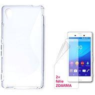 CONNECT IT S-Cover Sony Xperia M4 Aqua Transparent - Schutzhülle