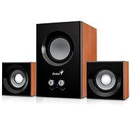 Genius SW-2.1 375 Holzfarben - Lautsprecher