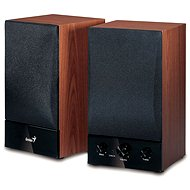 Genius SP-HF1250B Cherry wood - Lautsprecher