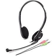 Genius HS-200C Dual-Jack - Kopfhörer mit Mikrofon