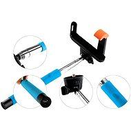 Gogen BT Selfie 2 teleskopisch blau - Selfie-Stick