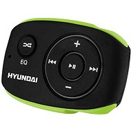 MP3 Player Hyundai MP 312 4 GB - schwarz/grün - MP3 přehrávač