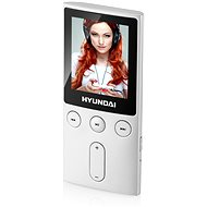 MP4 Player Hyundai MPC 501 FM 8GB silber - MP4 přehrávač