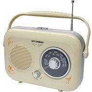 Hyundai PR 100 B Retro - beige - Radio